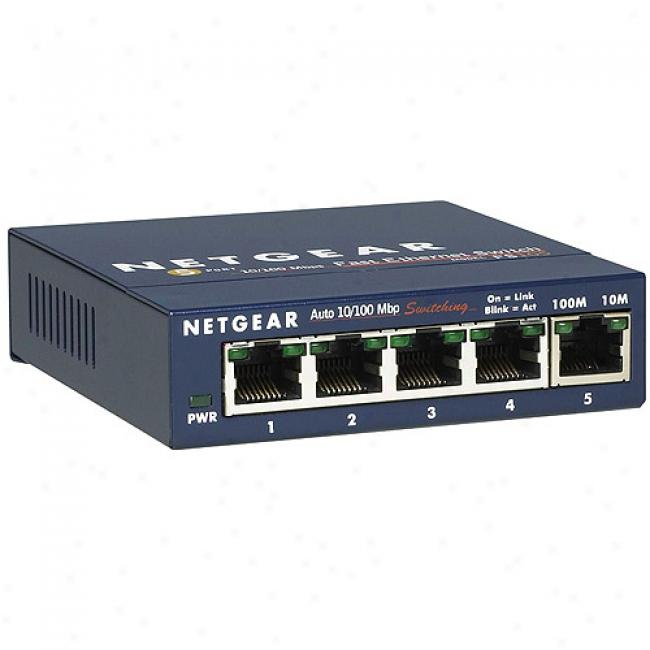 5-port Gigabit Ethernet Switch 10/100/1000 Mbps