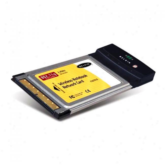 802.11g Wireless N0tebook Network Card