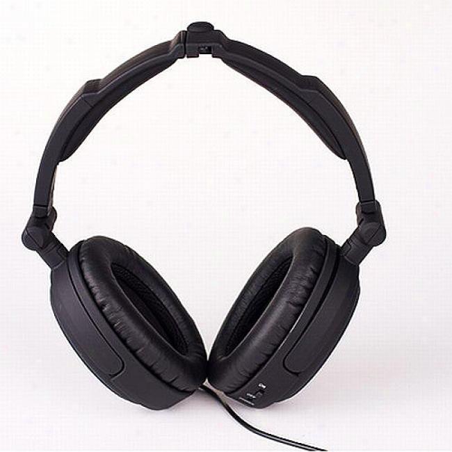 Able Planet Noise-canceling Foldable Headphones