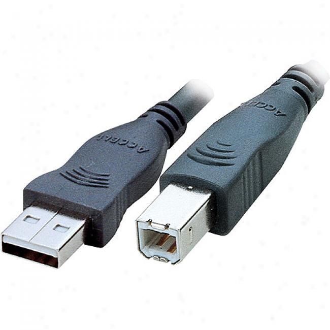 Accell Premium Series Usb 2.0 A/b Cable