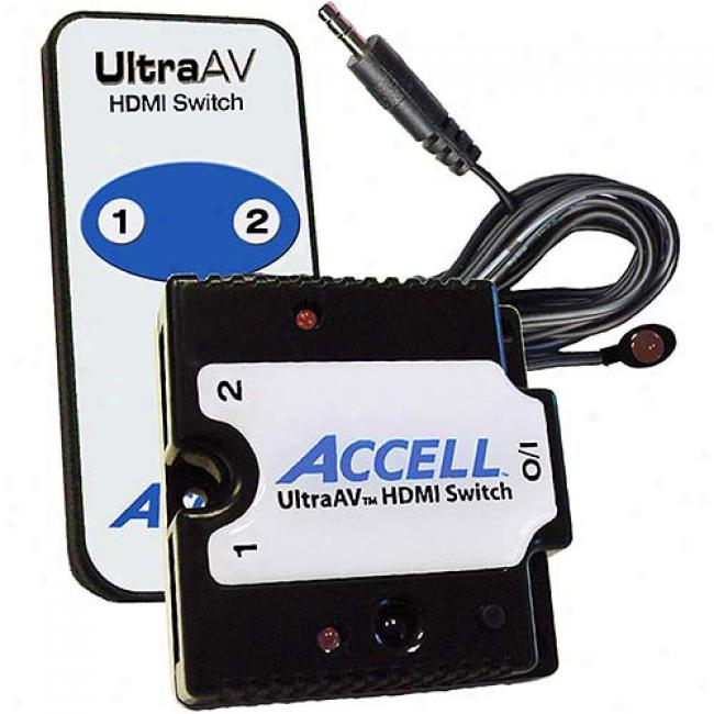 Accell Ultraav 2 X 1 Hdmi Switcher