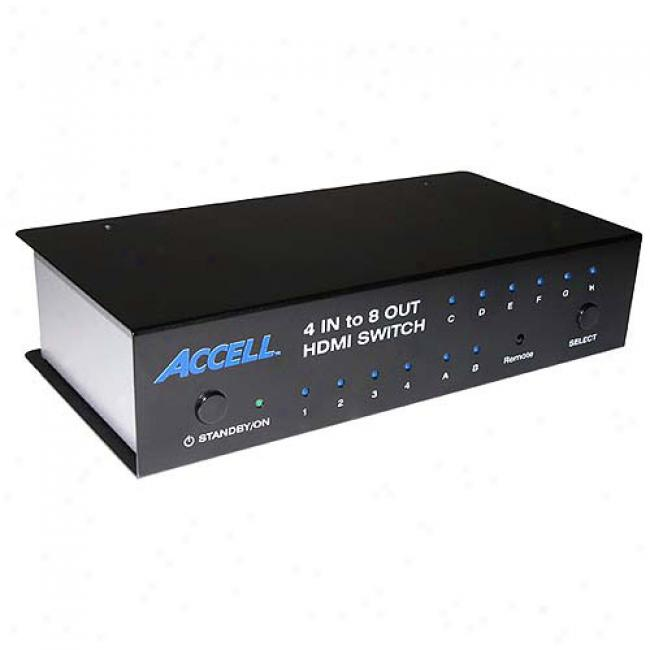 Accell Ultraav Hdmi 4 X 8 Beat
