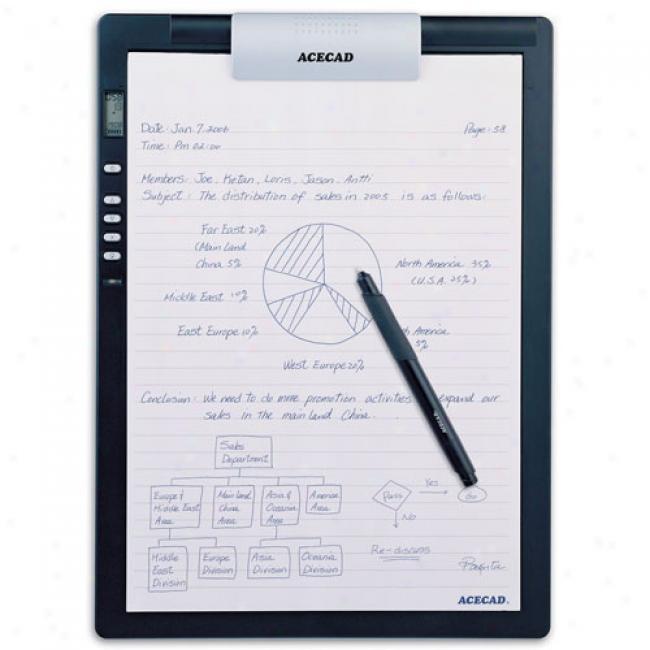 Acecad Digimemo L2 Digital Notepad