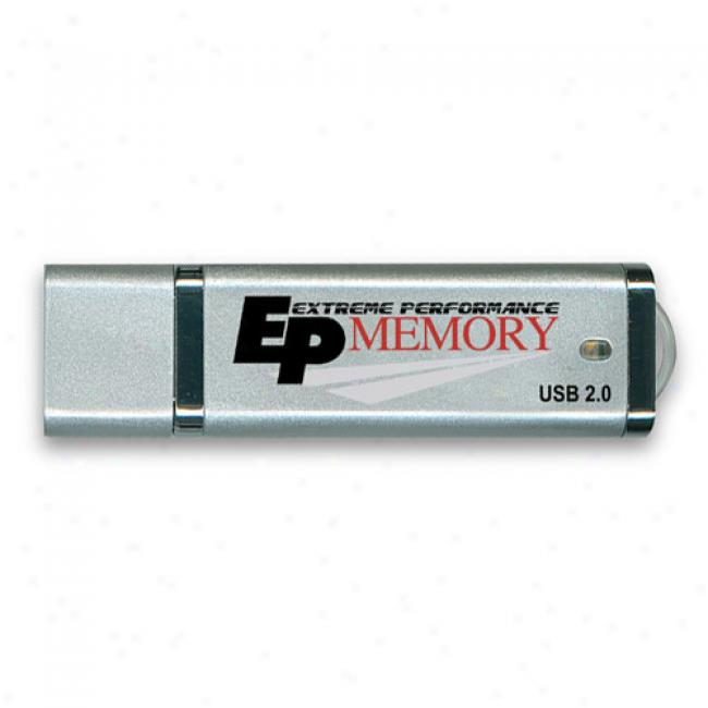 Acp-ep 2gb Micro Usb Flash Drive, Silver