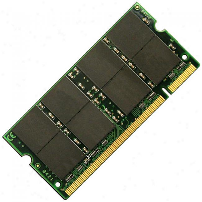 Acp-ep Memroy 1gb Pc2700 Ddr 333mhz 200-pin Notebook Memory Sodimm For Apple Ibook/powerbook G4 Series