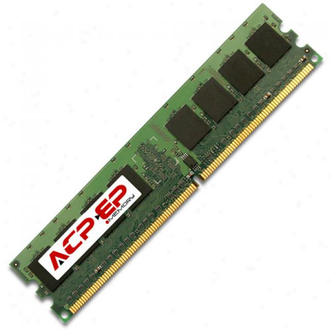 Acp-ep Memory 512mb 667mhz Ddr2 Pc2-5300 Cl5 Memory Module
