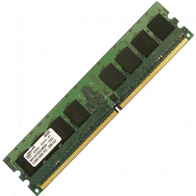 Acp-ep Recollection 512mb Pc2-3200 Ddr2 400mhz 240-pin Pc Desktop Memory Dimm