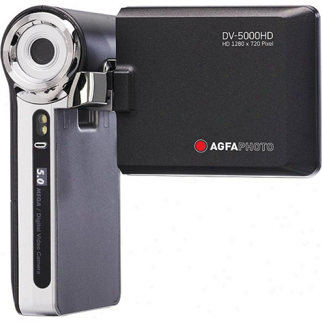 Agfaphoto Dv-50000hd High Definition Camcorder W/ 2.4
