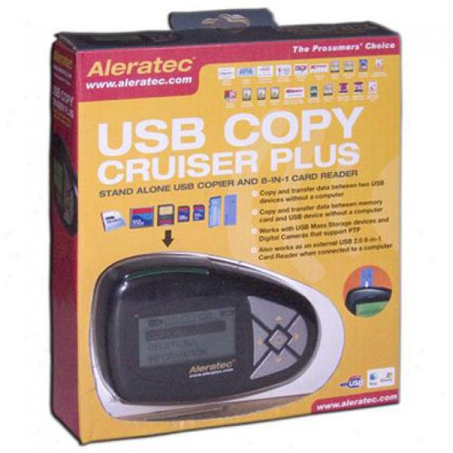 Aleeatec 8-in-1 Copy Cruiser Plus & Card Reader