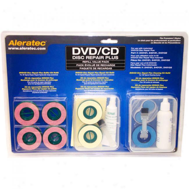 Aleratec Dcd/cd Disc Repair More Rfill
