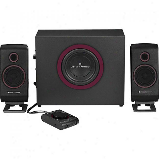 Altec Lansing Vs2421 3-piece Multimedia Speaker System