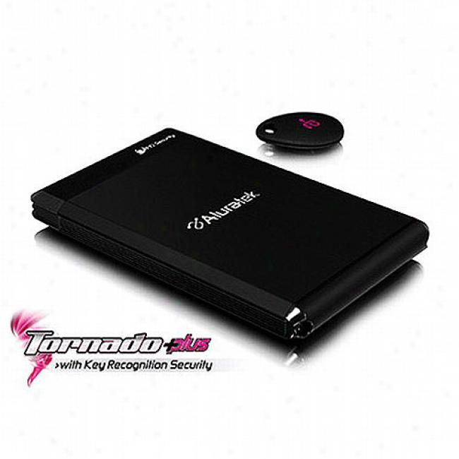 Alurafek Tornado Plus 250gb External Sata Inclement Drive W/ Usb Port