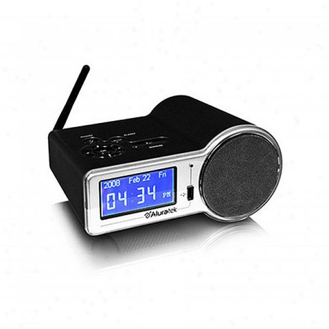 Aluratek Wifo Internet Radio W/ Alarm Clock