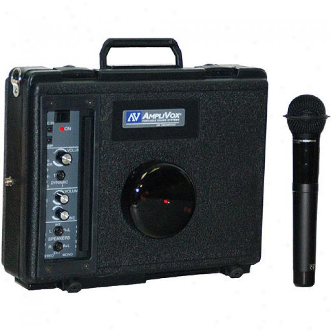 Amplibox Infrared Portable Biddy - With Handheld Mic