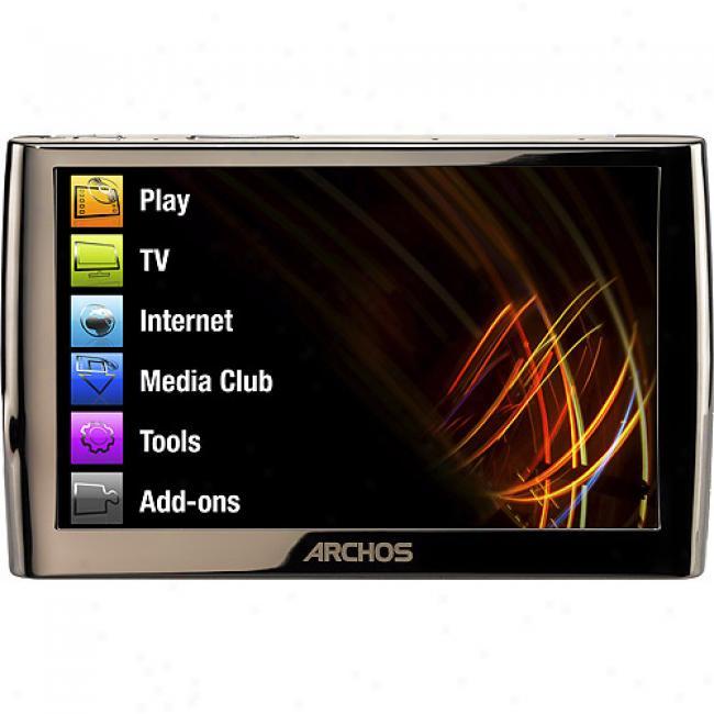 Archos 5 60gb Wirelses Internet Media Tablet