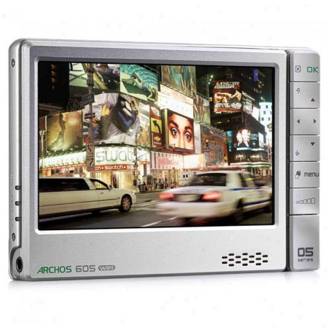 Archos 605 80gb Mp3 Video Player W/ Wi-fi