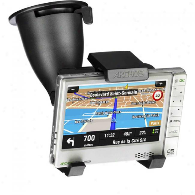 Archos 605 Gps In-car Holder/adapter Kit