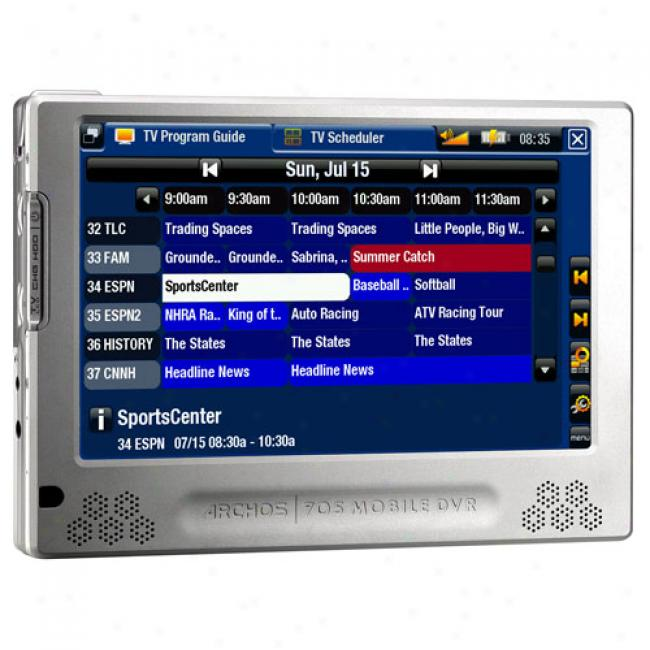 Archos 705 160gb Mp3 Video Player With Wi-fi