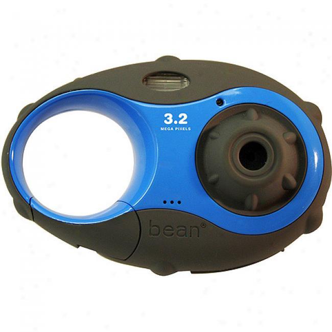Argus 'bean' Blue 3.2mp Carabiner Digital Camera