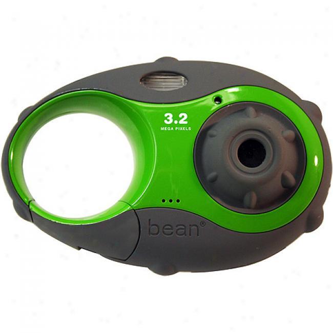 Argus 'bea'n Green 3.2mp Carabiner Digital Camera