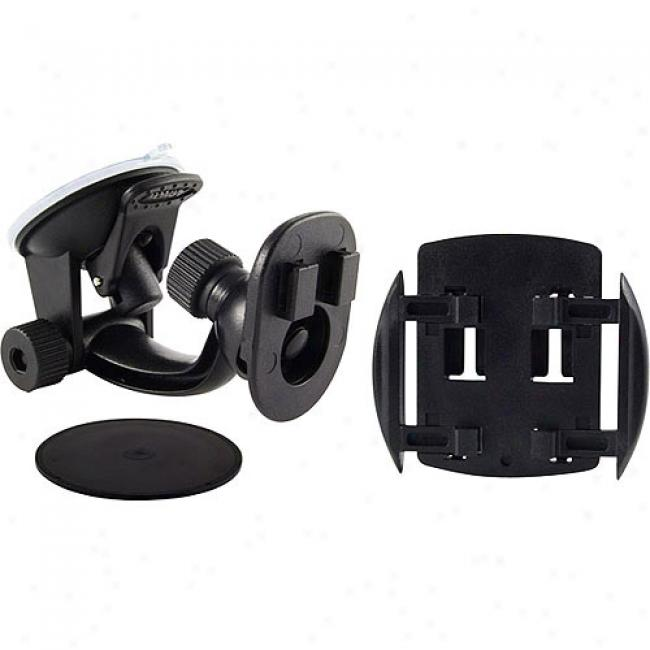 Arkon Travelmount Mini Windshi3ld/dash/console Mount For Magellan, Lowrance & Other Gps Devices