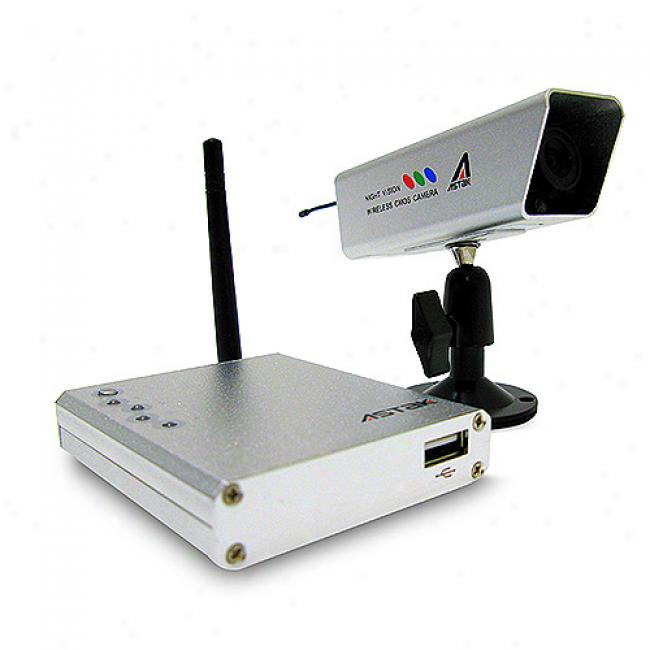Astak Cm-842g Wireless Camera With Receiver