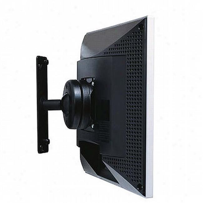 Atdec Wall Mount For Lcd Monitor, Black