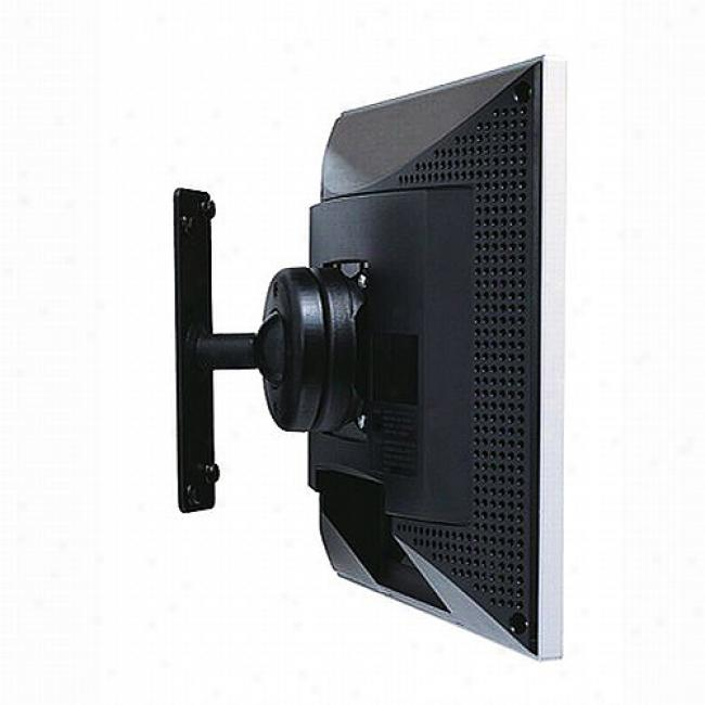 Atdec Wall Mount For Lcd Moonitor W/ Quick Release, Black