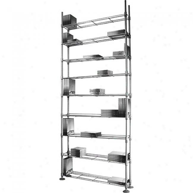 Atlantic Max Multimedia Steel Rack