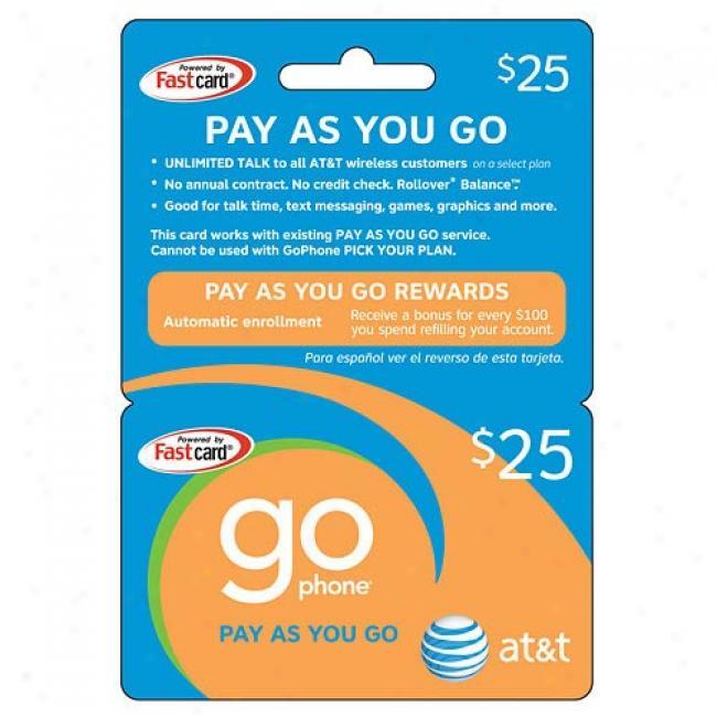 At&t $25 Prepaid Wireless Refill