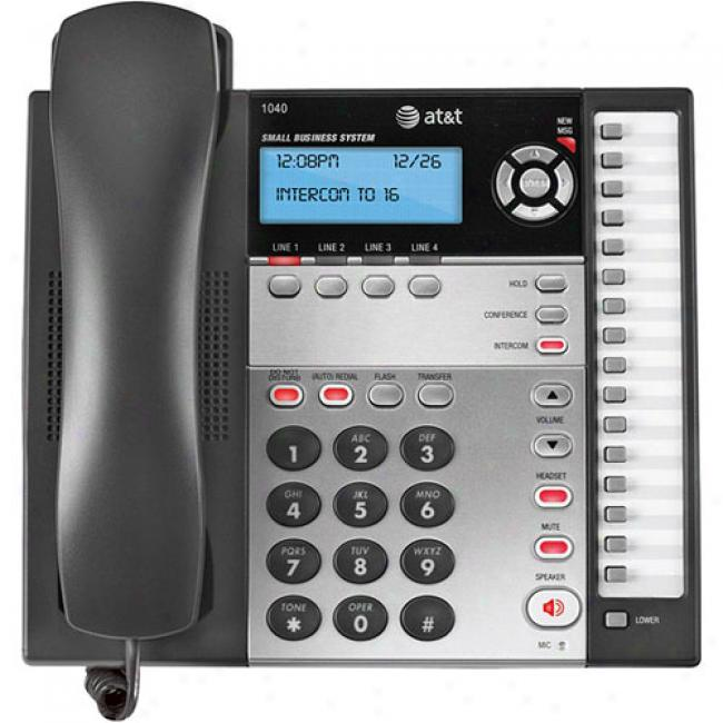 At&t 4-line Basic Phone System With Speakerphone