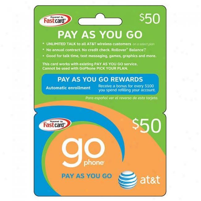 At&t $50 Prepaid Wireless Refill