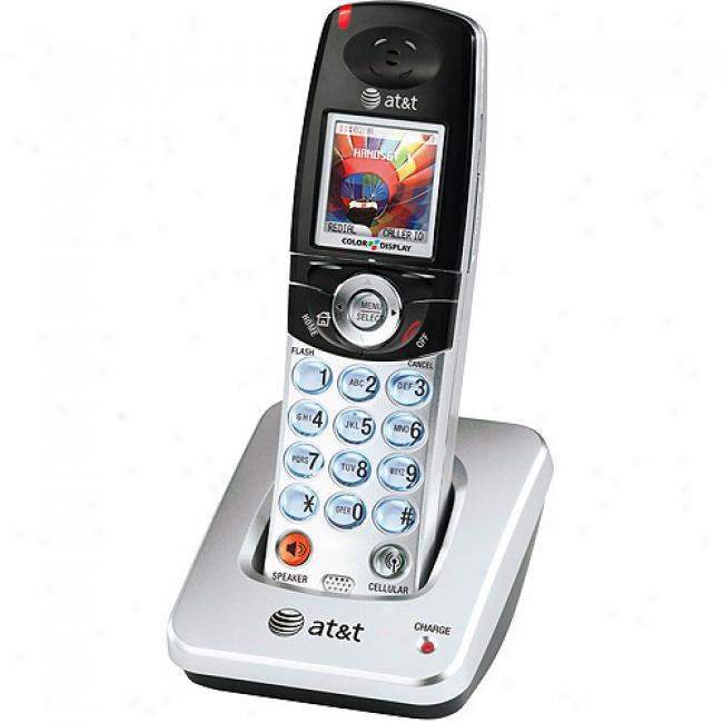 At&t 5.8 Bluetooth Phone Expansion Handset By the side of Caller Id