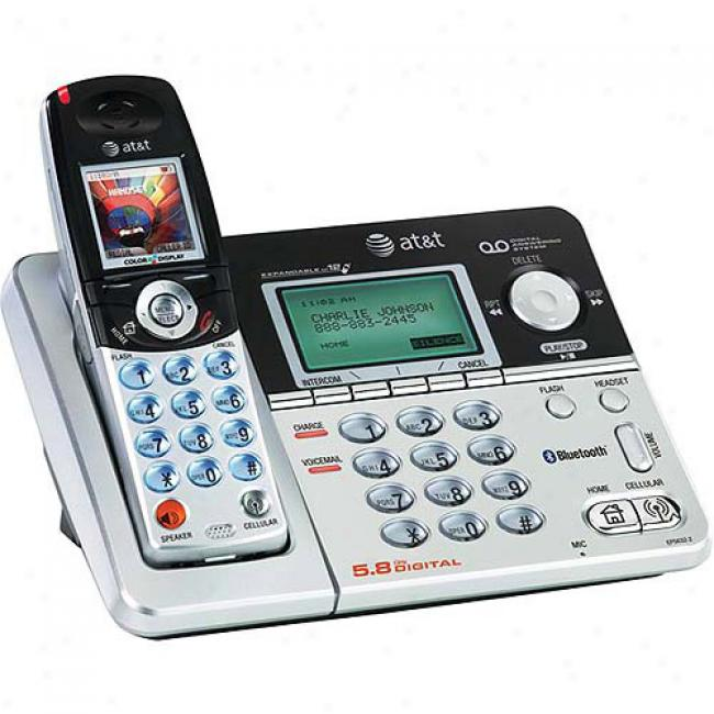 At&t 5.8 Bluetooth Phone With Caller Id And Answering System
