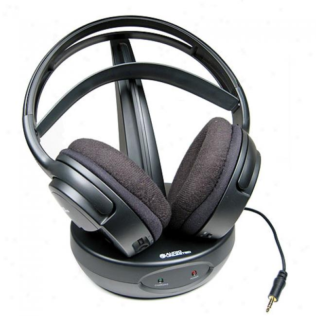 Audio Unlimited 900mhz Wirelses Stereo Headphones