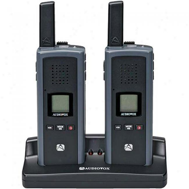 Audiovox Gmrs 2-way Radio With 18-mi1e Rangs