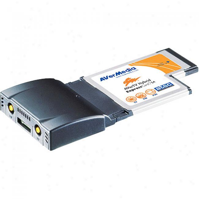 Avermedia Aver Tv Hybrid Express External Tv Tuner