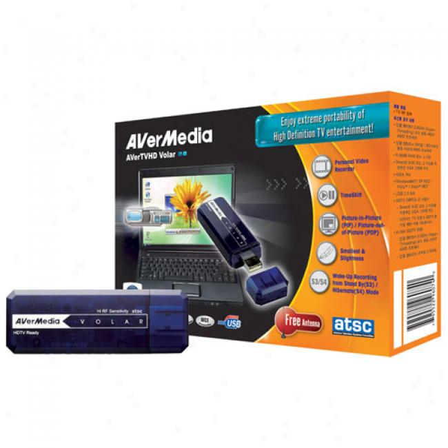 Avermedia Avertvhd Volar Usb Hd Digital Tv Tuner