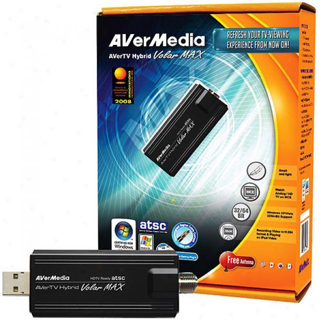 Avermedia Hybrid Volar Max External Tv Tuner