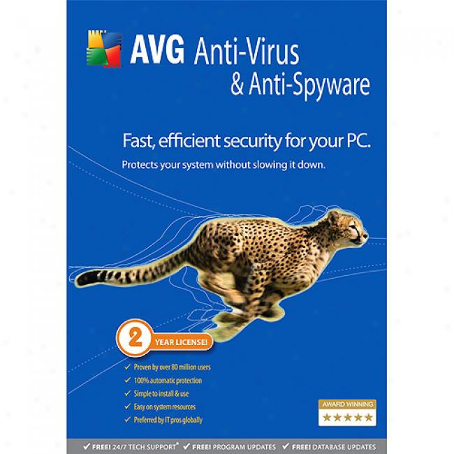 Avg Anti-virus & Anti-spyware (pc)
