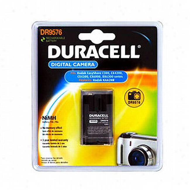 Battery Biz Duracell Camera Battery In spite of Kodak Easyshare C300 Cx6000, Cx7000, Dx6300 Series