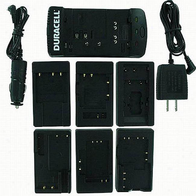 Battery Biz Duracell Digital Camera Battery Charger With Six Plates