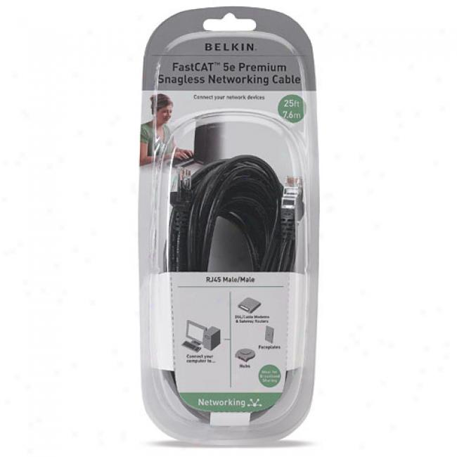 Belkin 25-foot Fastcat5e Ethernet Cable