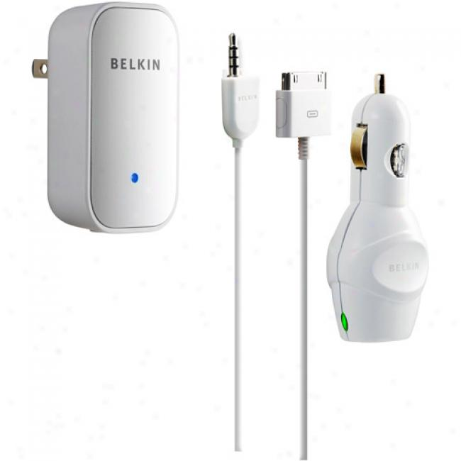 Belkin Charging Kit For Ipod With Shuffle Cable