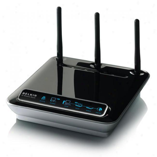 Belkin F5d8231-4 Wireless-n N1 Broadvand Router