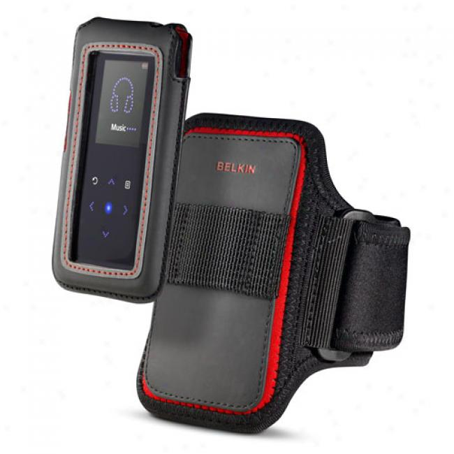 Belkin Holster Case With Sports Armband For Samsung K3, Black