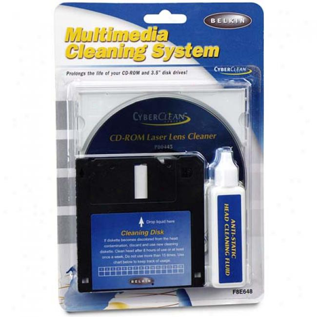 Belkin Mini Cd Drive Cleaning Kit