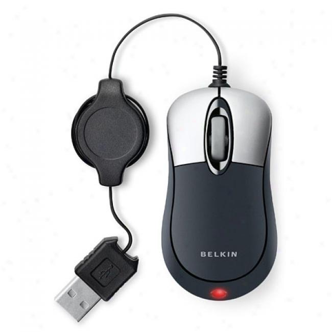 Belkin Retractable Mouse