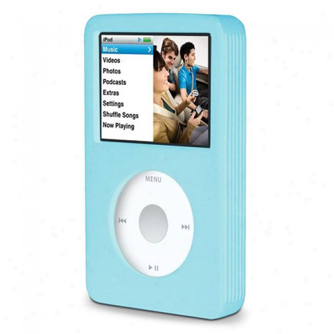 Belkin Silicone Sleeve For 80 Gb Ipod Classic, Blue