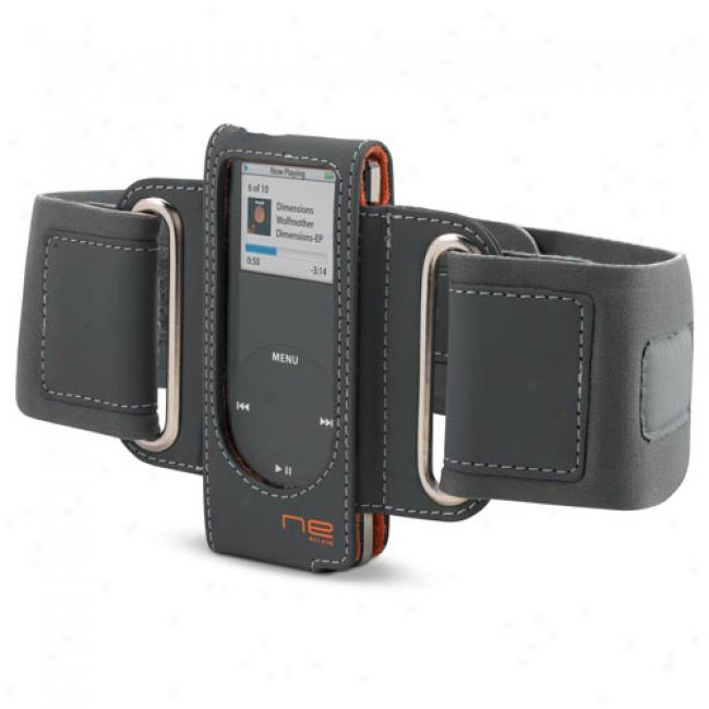 Belkin Sports Armband For Ipod Nano, Gray